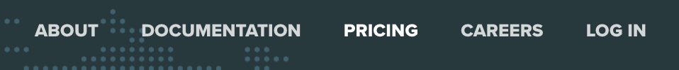 Pricing'e tıklıyoruz